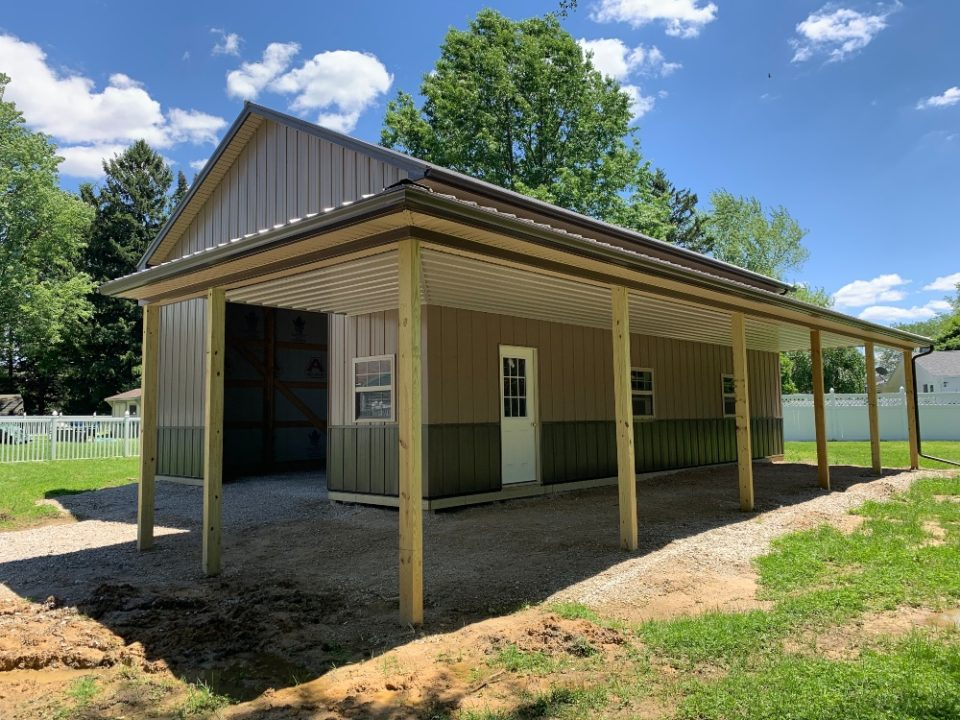 Pole Barns Attica, OH | Attica Lumber
